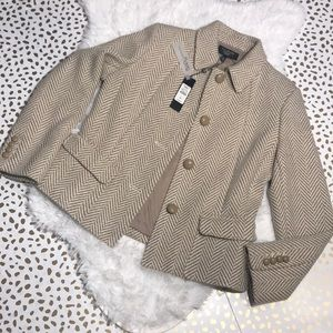 Talbots Grace Fit Wool Blend Blazer NWT